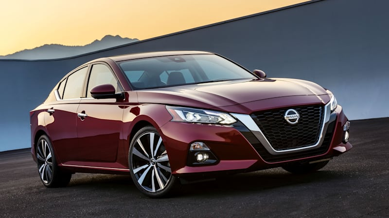 2019 Nissan Altima Drivers