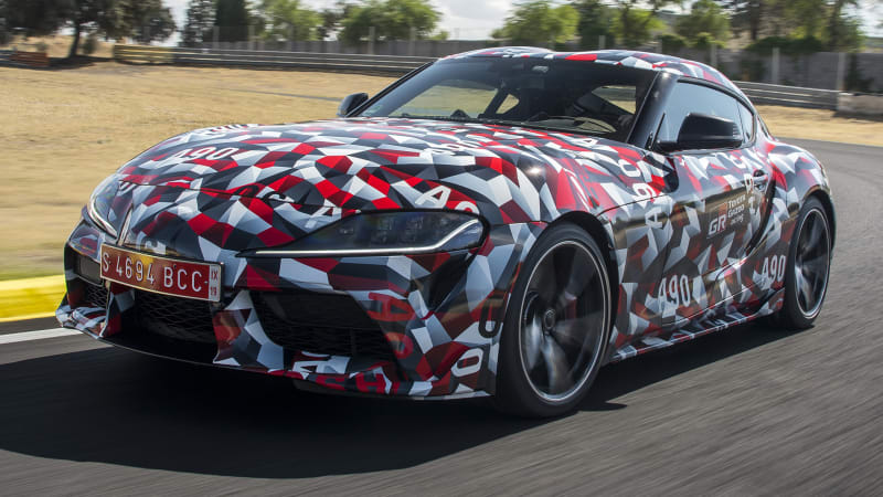 2019 Toyota Supra to be revealed at the Detroit Auto Show