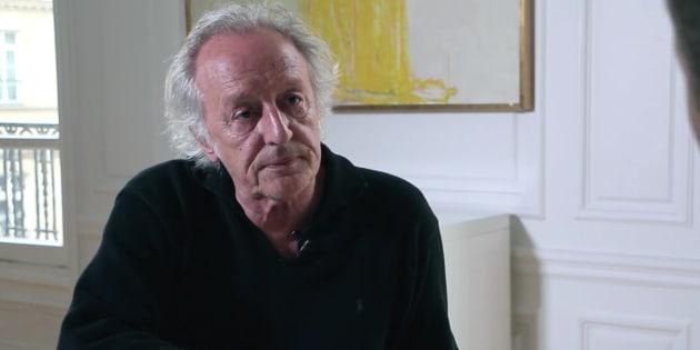 """""""La passion de la liberté"""", voilà ce qui guide Didier Barbelivien."""