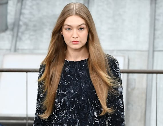 Gigi Hadid confronts runway crasher at Chanel show