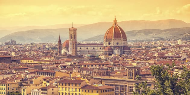 'Florence with Duomo, Italy'