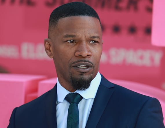 Jamie Foxx turns heads with comment about dating