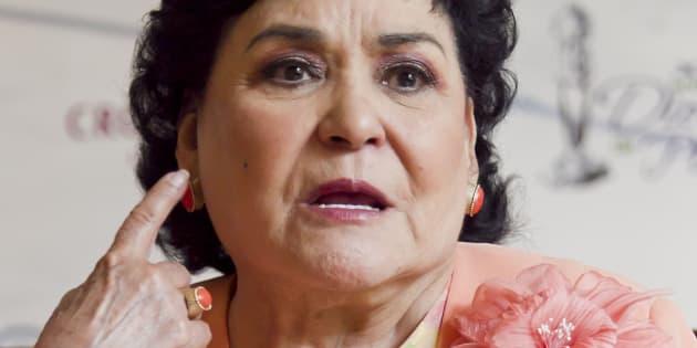 La actriz Carmen Salinas.