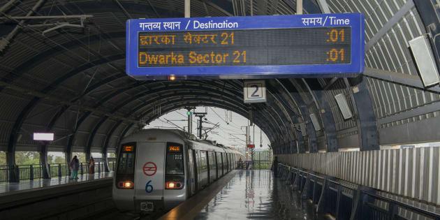 Delhi Metro train network Delhi India