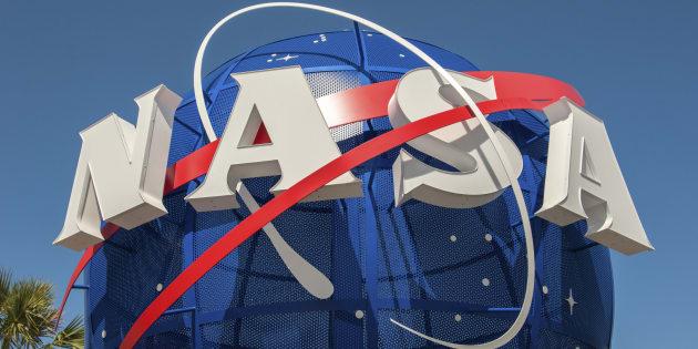 Imagen del complejo de visitantes del Centro Espacial Kennedy de la NASA en Florida, EU.