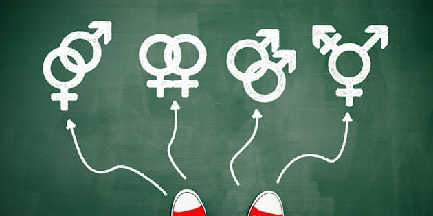 Les symboles de différents genres. Illustration.