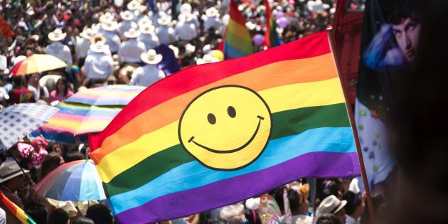 Desfile del Orgullo LGBTI en Mexico DF, 2017.
