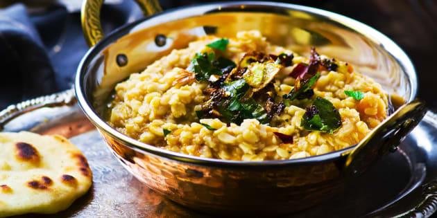 Le dhal, la meilleure option exotique pour manger des légumineuses.