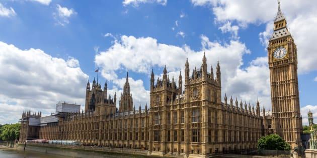 La Cámara de los Comunes y el Palacio de Westminster, en una imagen de archivo.