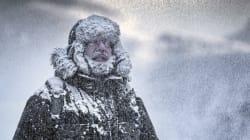 Las temperaturas se desploman por una masa de aire