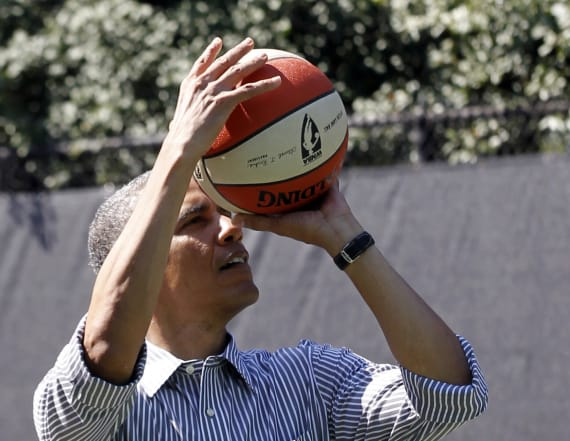 Inside Obama's competitive WH basketball games