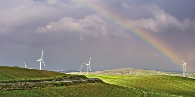 Somewhere over the rainbow is a great alternative to dirty energy.