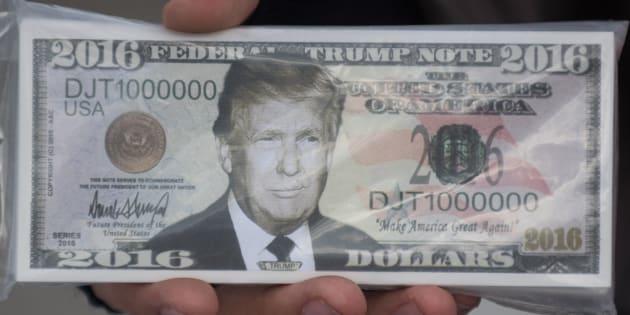 Quand Donald Trump refuse son salaire de président, c'est tout sauf désintéressé