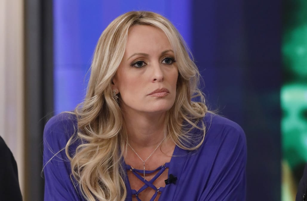 9b48de858a1b Is there a hidden meaning behind Stormy Daniels s key necklace ...