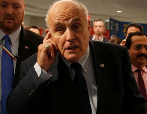 Rudy Giuliani makes demand for 'spygate' report
