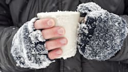 Vous avez les mains gercées à cause du froid? Voici comment en prendre