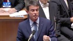 Vive passe d'armes à l'Assemblée entre Valls et