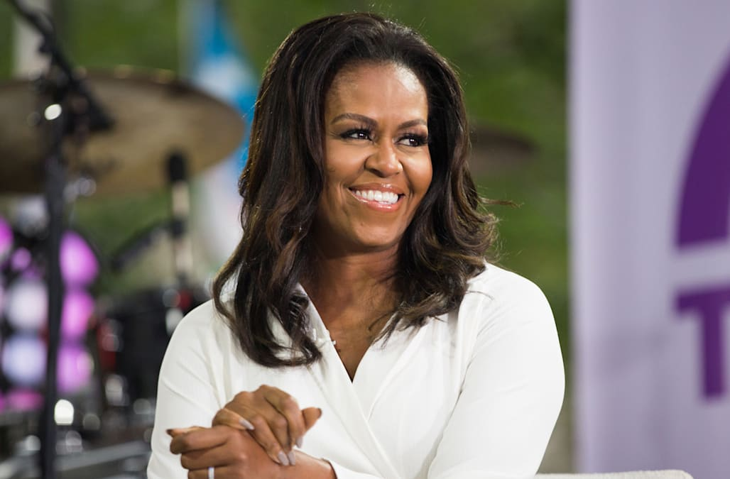 2344a2b29be Michelle Obama talks dating Barack Obama