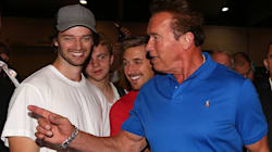 'Crazy Scenes' As Arnold Schwarzenegger Meets Fans In