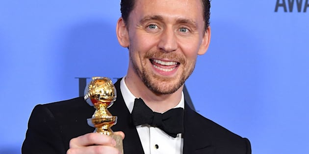 BEVERLY HILLS, CA - JANUARY 08:  Tom Hiddleston poses at the 74th Annual Golden Globe Awards at The Beverly Hilton Hotel on January 8, 2017 in Beverly Hills, California.  (Photo by Steve Granitz/WireImage)