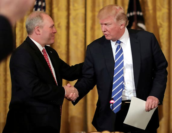 WATCH LIVE: Trump honors first responders to Scalise