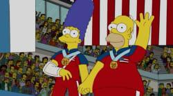Les Simpson avaient prévu en 2010 cette médaille américaine aux JO