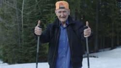Ce grand-père de 91 ans est certainement plus sportif que