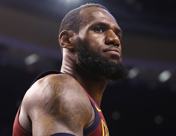 LeBron James admits he's lost sleep down 0-2