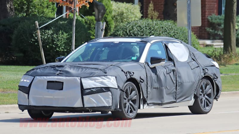 Next Gen Acura Tlx Spied Testing In Heavy Camouflage Autoblog