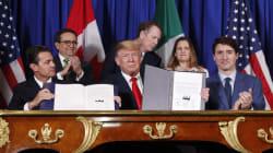 Le Canada a signé le nouvel