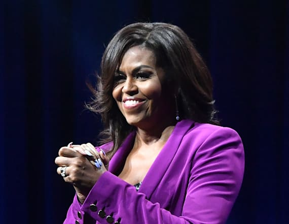 Michelle Obama wows in showstopping combo