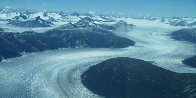 River of ice, Glacier country, Antarctic region