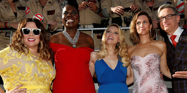 Melissa McCarthy, Leslie Jones, Kate McKinnon and Kristen Wiig star in the latest installment of Ghostbusters.