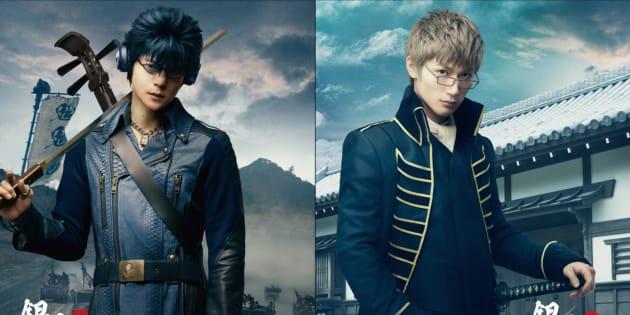 窪田正孝さんが演じる河上万斉(左)と、三浦春馬