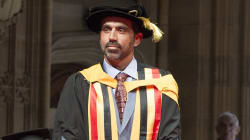 Adam Goodes Receives Honorary Doctorate From