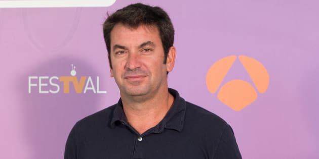 El actor y presentador Arturo Valls durante la promoción del programa 'Me cambio de década'.