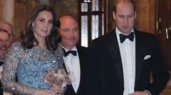 El príncipe Guillermo, estrella de la 'Royal Variety Performance' por lo que hizo en el palco