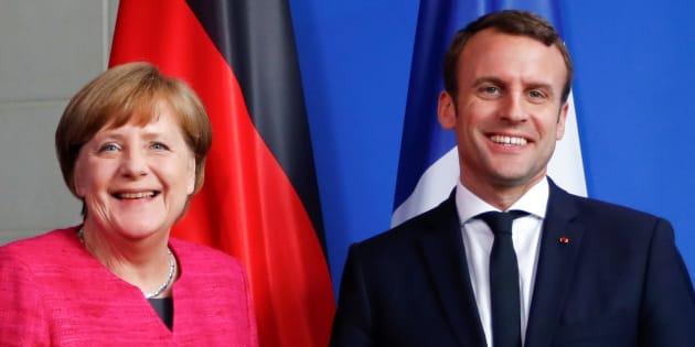 Ce qu'Emmanuel Macron a pu apprendre de sa visite chez Angela Merkel.