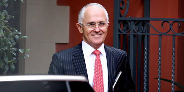 Facing the music: Malcolm Turnbull says he takes full responsibility for a wayward campaign.