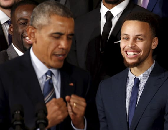 Steph Curry says he's too busy to golf with Obama