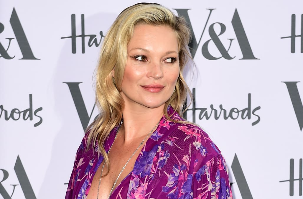Kate Moss's secret facial remedy is already in your freezer - AOL