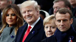 Emmanuel Macron Condemns Nationalism As 'Betrayal Of Patriotism' In Front Of Donald
