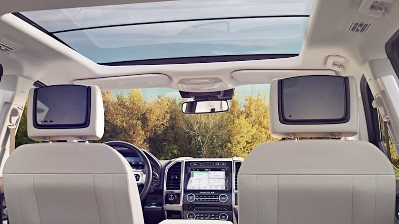 It Seems Ford Is Out To Make The New Expedition The Ultimate Mobile Entertainment System In Addition The Already Announced Onboard Wi Fi Hotspot