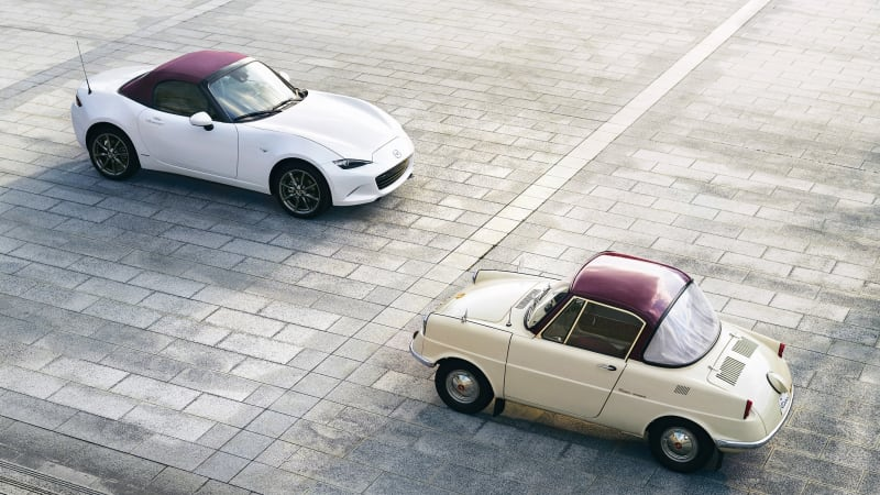 Mazda celebrates its 100th anniversary with limited-edition models ...