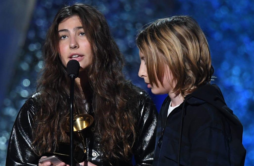 Chris Cornell's children accept his posthumous Grammy for