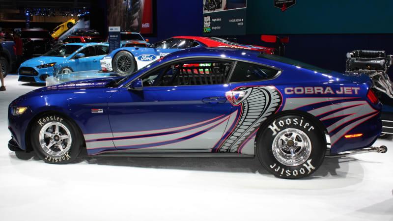 Ford Cobra Jet Mustang Blasts Into Sema W Video Autoblog