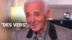 Aznavour avait une idée précise pour son