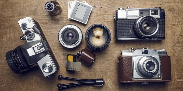 L'appareil photo est l'objet inutilisé que les Français gardent le plus