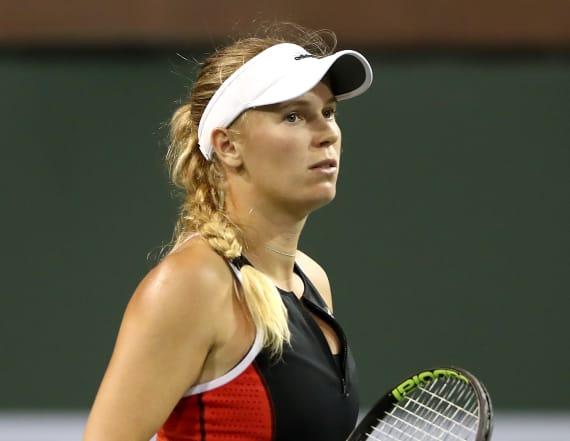 Wozniacki says family was threatened at Miami Open