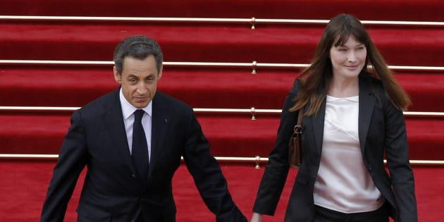 La famille Sarkozy vient d'adopter une femelle Cavalier King Charles de deux mois, baptisée Nastasya.